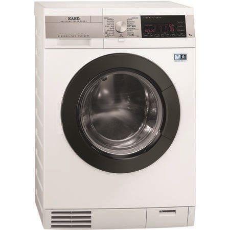 AEG L99695HWD OkoKombi 9kg Wash 6kg Dry 1600rpm Freestanding Washer Dryer White | Appliances Direct