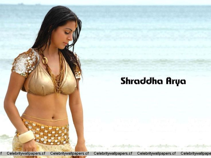Shraddha Arya Hot Beautiful Photos That Will Make Your Day: Shraddha Arya Beach Pics Wallpaper