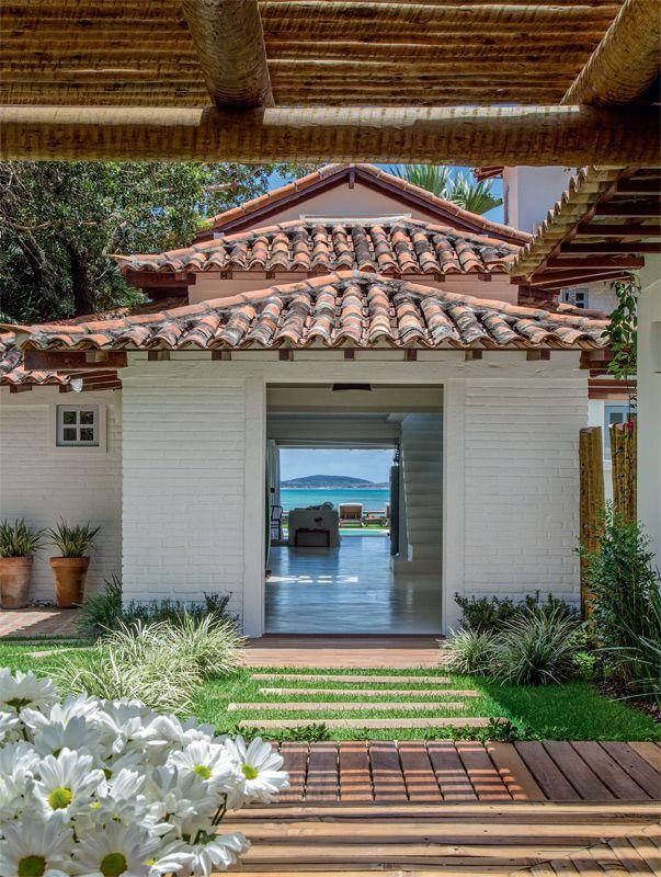 Perfeita Ordem : Casa na praia