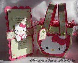 Image result for cricut hello kitty gift bag