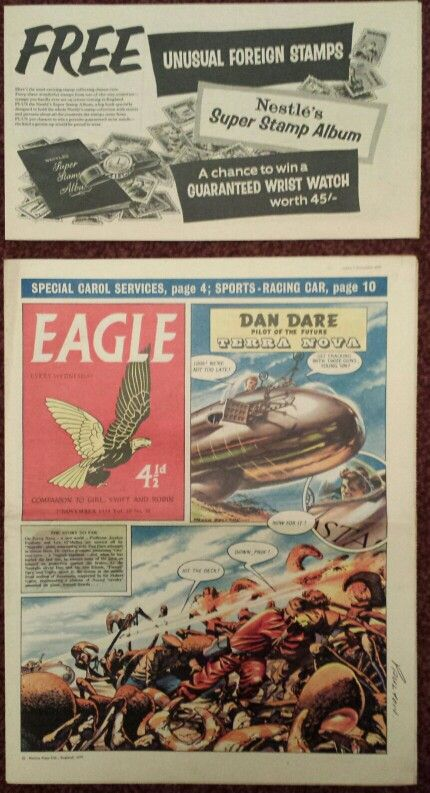 Eagle Comics 1959 - With original flyer