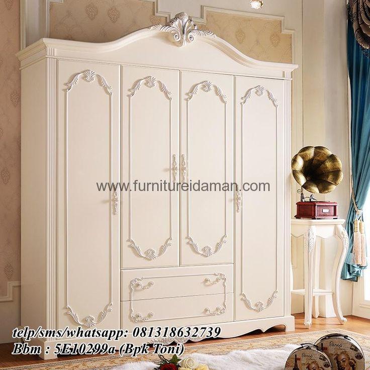 Lemari Pakaian 4 Pintu Model Armario-Berikut kami tawarkan untuk anda,salah satu produk andalan dari furnitureidaman.com order telp/wa 081318632739
