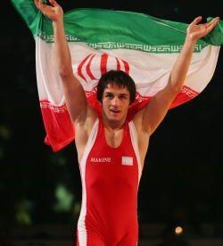 2012年ロンドン五輪55kg級金メダリスト。ハミド・スーリヤン(イラン)。レスリング選手一覧