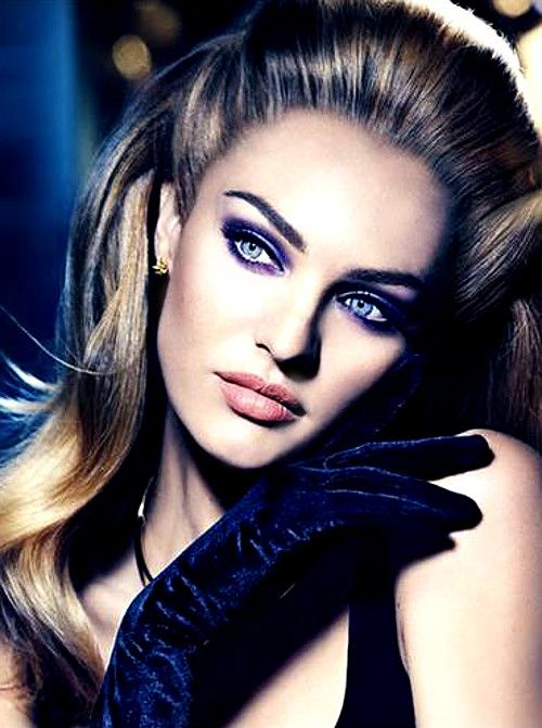 Candice Swanepoel by Camilla Akrans for Max Factor Cosmetics Campaign 2015