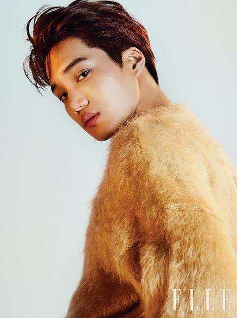 Devilspacezhip: [PICS] EXO Kai for ELLE Magazine November Issue 20...