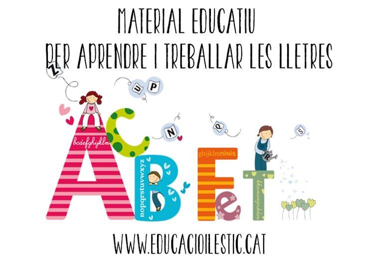 Material educatiu per aprendre i treballar les lletres