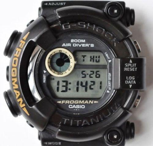 Casio G-Shock DW-8200BM-1T Frogman Men in Black /Near Mint 1998 RaRe!! #Casio #Sport