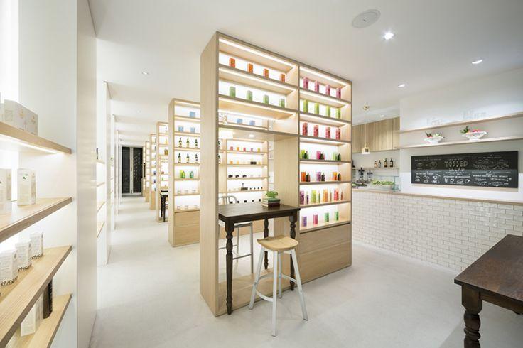 Nendo-boutique bio Tokyo