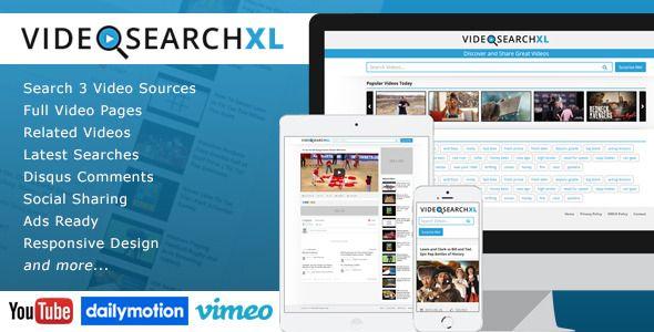 Download – VideoSearchXL Multi Source Video Search Engine – Version v1.1