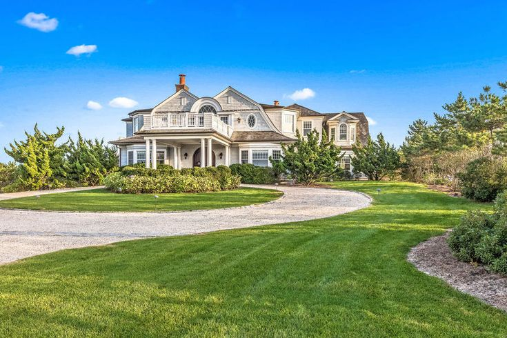 Oceanfront Hamptons Mansion Listed for $20.9 Million: The nearly three-acre Long Island property features an infinity pool, tennis court and private access to the beach ...