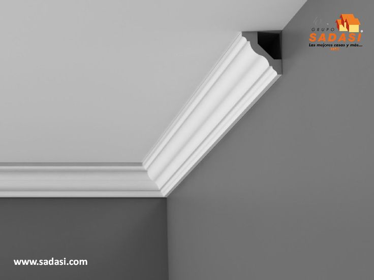 M s de 1000 ideas sobre molduras de techo en pinterest - Molduras de techo ...