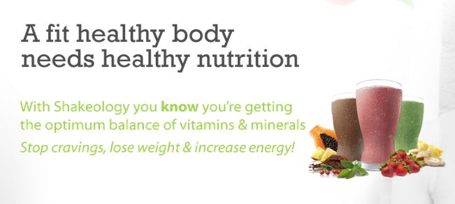 A fit healthy body needs healthy nutrition