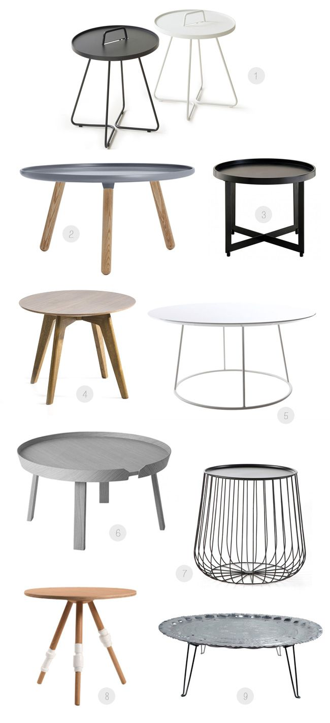 17 best ideas about coffee table design on pinterest coffe table reclaimed - Table basse ronde moderne ...