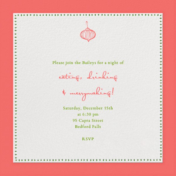 258 best images about Online Christmas Party Invitations – Custom Holiday Party Invitations