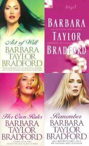 a barbara taylor bradford __ 4 libro juego __ nuevo __ envio gratuito gb