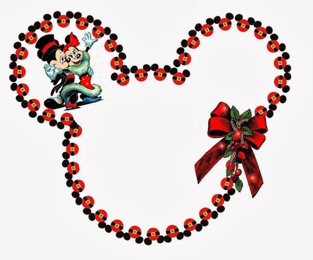 Imprimibles de Disney para Navidad.