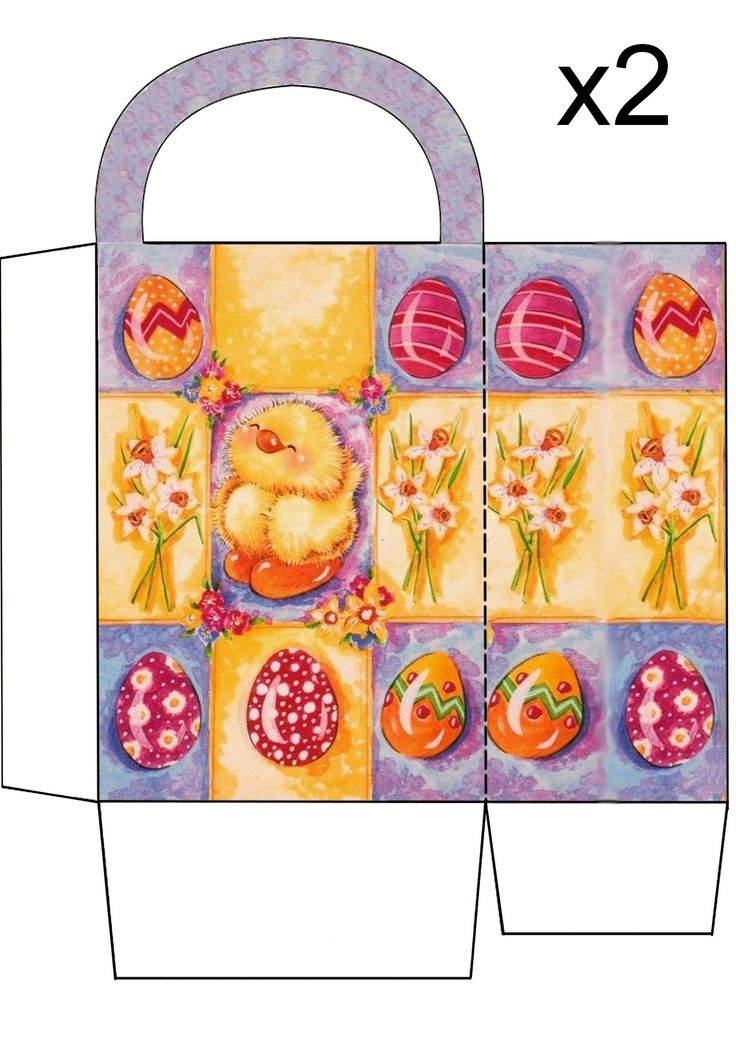 69 best gift box 2 images on pinterest easter box templates and easter templates box templates spring images easter crafts easter ideas spring time happy easter gift bags free printables negle Gallery