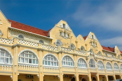 A beautiful vintage Vicorian style hotel building in Port Elizabeth Eastern Cape province South Africa Stock Photo