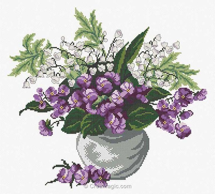 Plus de 1000 id es propos de broderie sur pinterest for Achat fleurs et plantes en ligne