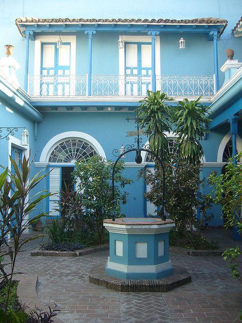 SANTIAGO DE CUBA ||| Santiago de Cuba, Casa de Diego Velázquez (patio II) - Cuba by Slys, via Flickr