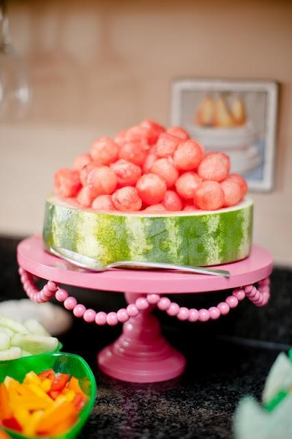 Watermelon Balls  I DO invitations by michelle: Cami's {Watermelon} Summer Play Date
