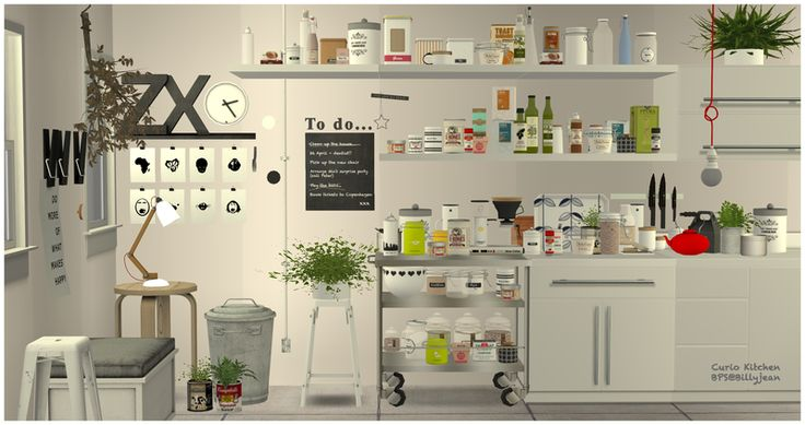 BPS Downloads - Updates - An Ongoing Thread. Curio Kitchen Set (clutter) by leehee4444