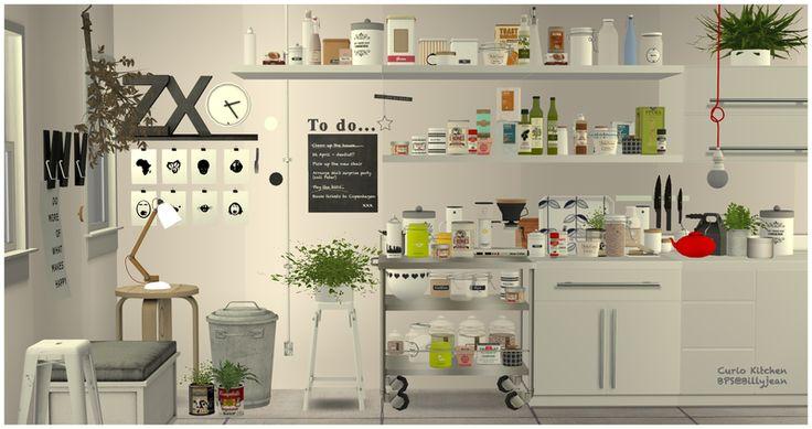 BPS Downloads - Updates - An Ongoing Thread. Curio Kitchen Set (clutter) by leehee4444