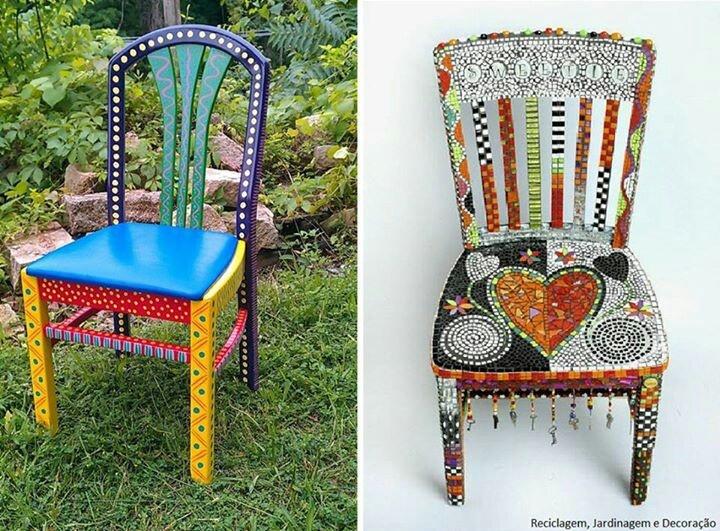 sillas recicladas imagui