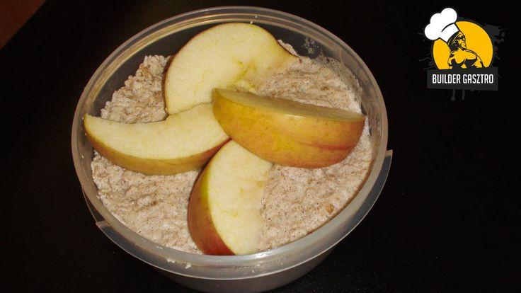 Almás zabos reggeli