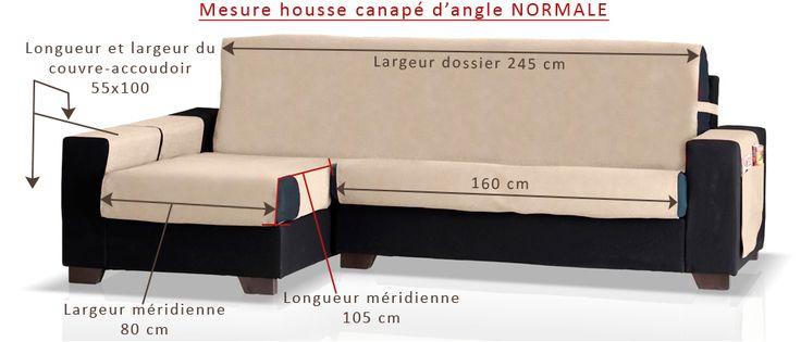 Couvre canapé d'angle avec de tissu Jacquard et avec des poches latérales. Facil à poser et à enlever.