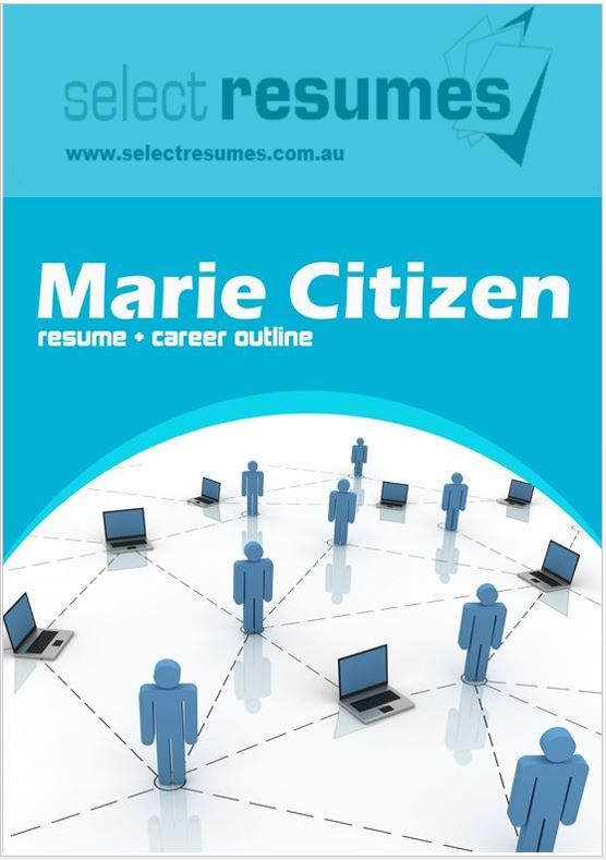 Information Technology focused Resume example as part of the Select Resumes professional Writing Service. Call us on 1300 614 714 to help with your resume.