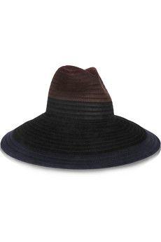 Tomas Maier Wide-brimmed rabbit-felt hat | NET-A-PORTER
