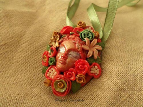 Lady and her garden, necklaceAbigailSmycken