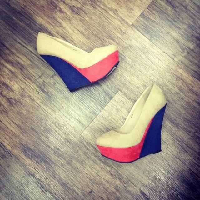 gorgeous wedge heels