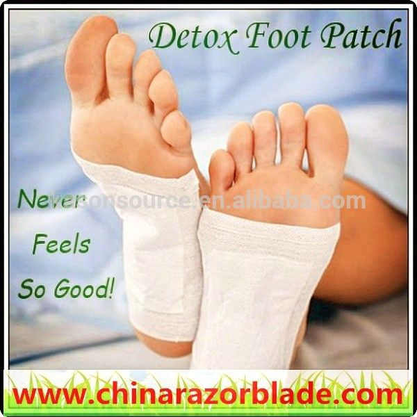 Box packing China detox foot patch, kinoki foot patches, jungong detox foot pad