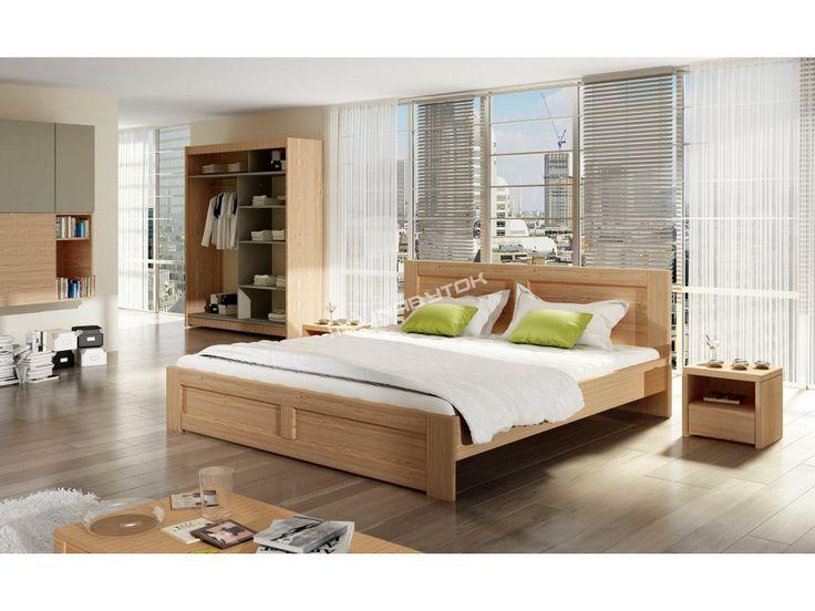 Drevená jednolôžková posteľ WILLIAM / 120x200 vyrobená z kvalitného masívneho…