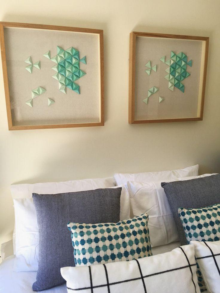 bedroom detail interior design Melbourne property styling