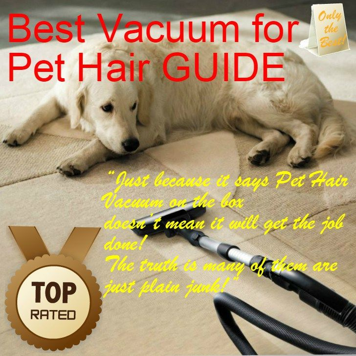 Best Vacuum for Pet Hair Guide, click on hardwood floor link