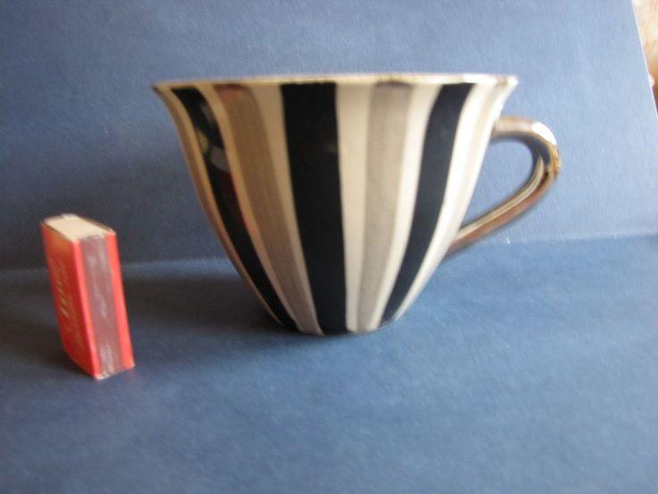 Vintage Sweden Studio Art Design Kerstin Tillberg Large MUG cup