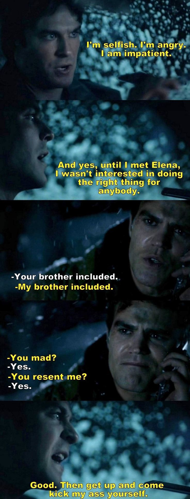 The Vampire Diaries TVD 7X17 - Damon and Stefan