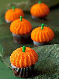 easy halloween mini cupcakes