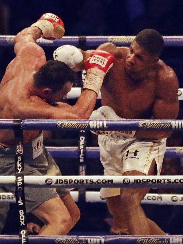 Anthony Joshua beats Wladimir Klitschko in epic heavyweight fight