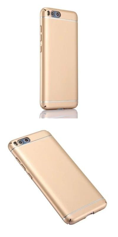 Ultra Thin  Full Protection Metallic Luster Hard Plastic Combination Shockproof Case for Xiaomi Mi 6 -$3.77