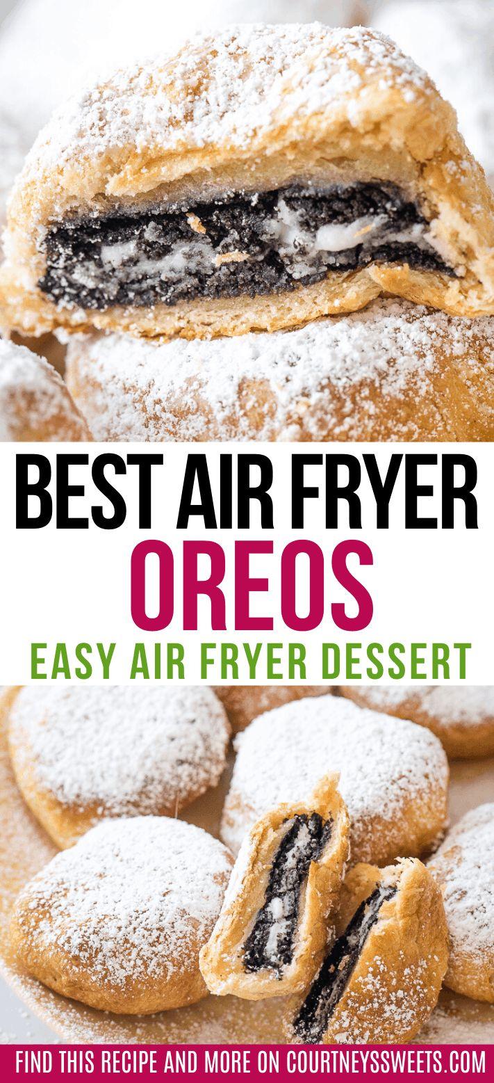 Super simple air fryer dessert recipe, Air Fryer Oreos are