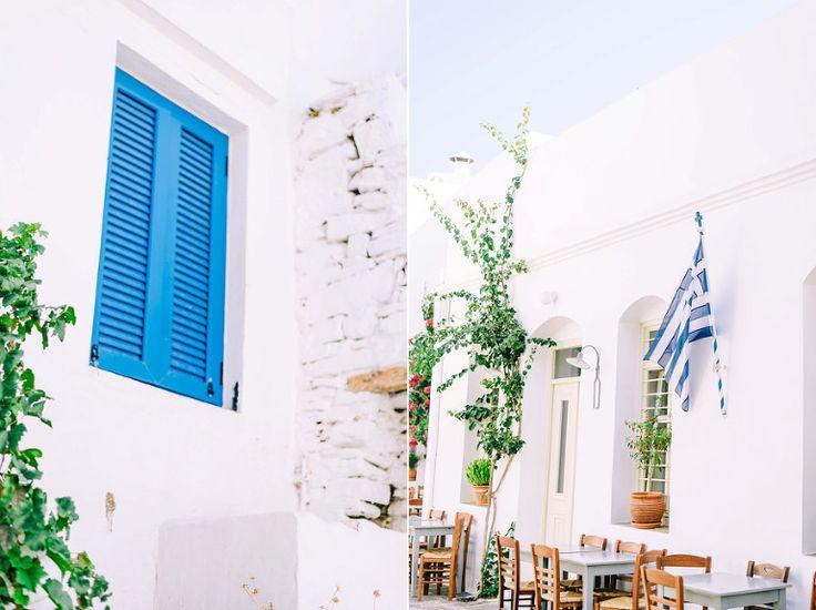 Greek island in summer