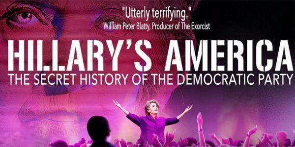 Who R @theDemocrats?Dont vote w/o watching @HillarysAmerica,#1 documentary of 2016 #HillarysAmerica https://hillarysamericathemovie.com/#dvd  @wikileaks @CRNC