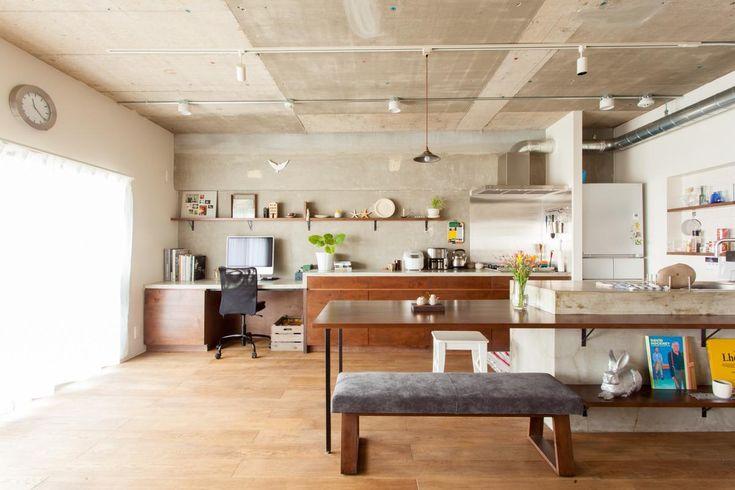 リフォーム・リノベーション会社:EcoDeco(エコデコ)「団地リノベーション!休日は家でボルダリング アウトドアを楽しむ家」