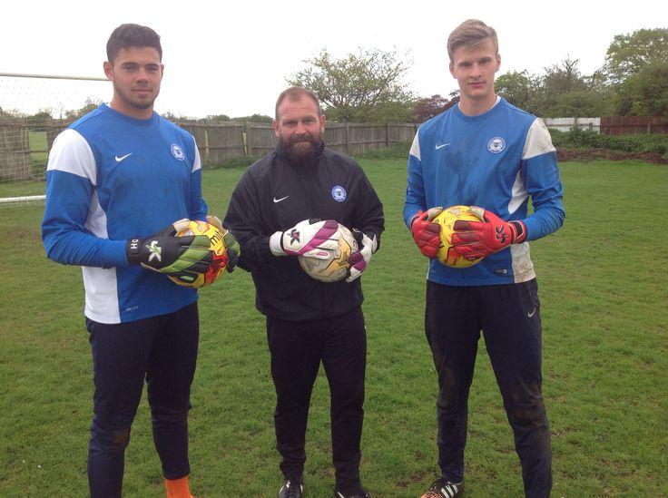 Peterborough United FC Goalkeepers rocking the J4K gloves!