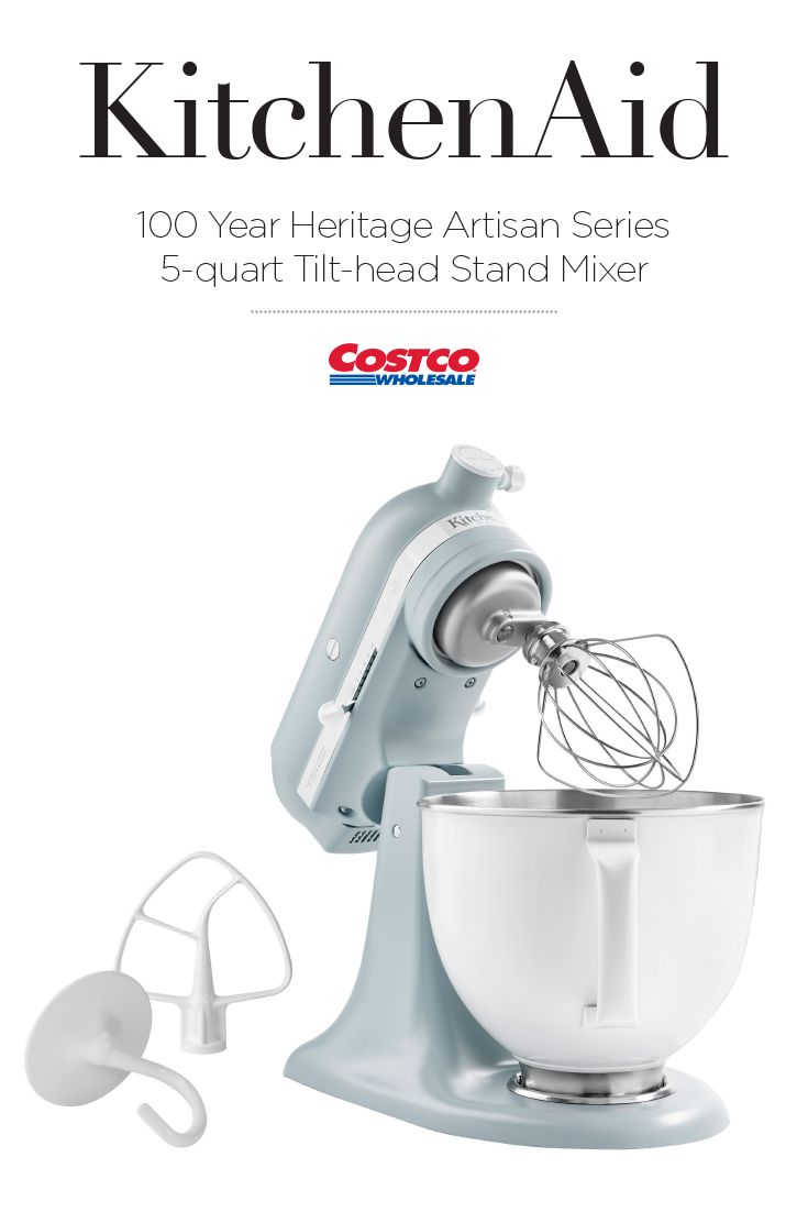 Celebrate the 100 year anniversary of kitchenaid with this