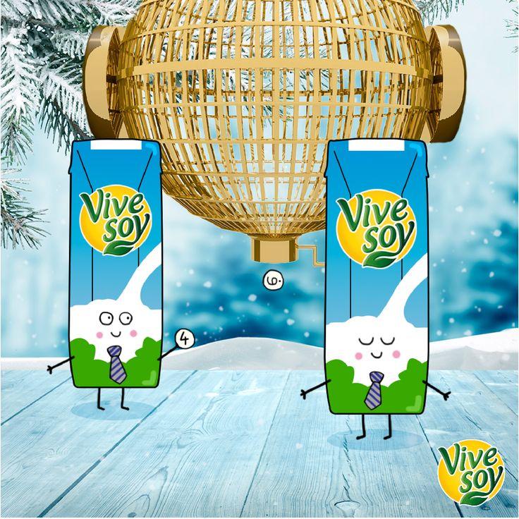 ¡Cruzemos los dedos! A ver qué número cantan nuestra bebida Vivesoy Natural ¡Muchas #suerte! #Lotería #Vivesoy  #Navidad #Disfruta #BebidasVegetales #Bienestar #MeCuido #VidaSaludable #Diciembre #2016 #Soja #VivesoyNatural #LoteríaNavidad